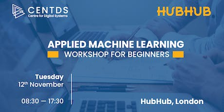 Applied Machine Learning Workshop for Beginners tickets