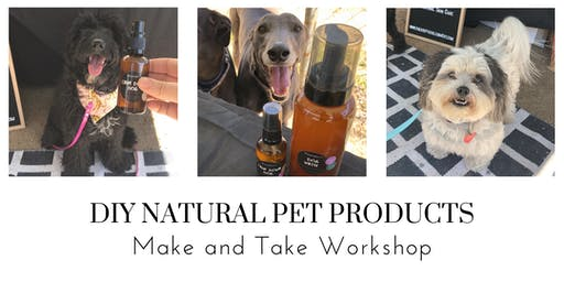 DIY Natural Pet Products -  Spoil your hound this Christmas!