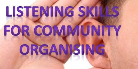 Listening Skills for Community Organising, 1 Day Workshop tickets