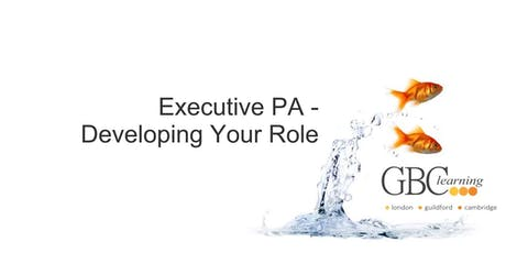 Executive PA - Developing Your Role - Cambridge tickets