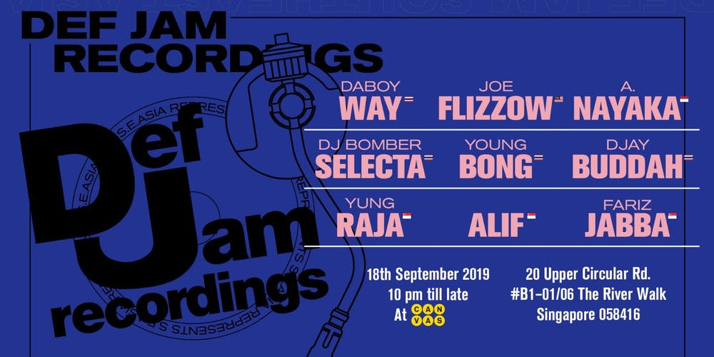 Def Jam Represents Tickets, Wed 18 Sep 2019 at 10:00 PM