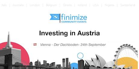 #FinimizeCommunity presents: Investing in Austria Tickets