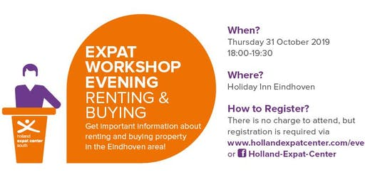 Expat Workshop Evening: Housing - Renting & Buying in Eindhoven