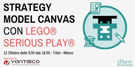 Digital Strategy Model Canvas con LEGO® Serious PLAY® biglietti