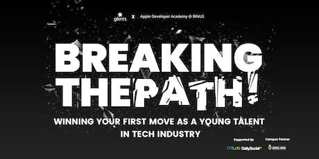 Glints x Apple Developer Academy : Breaking the Path! tickets