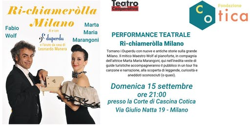 PERFORMANCE TEATRALE - Ri-Chiameròlla Milano