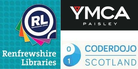 Coderdojo//Paisley YMCA @ Glenburn Library - Thursday tickets