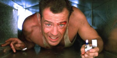 Die Hard Movie Night with Free-Flowing Booze