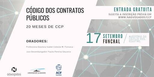 Código dos Contratos Públicos: 20 meses de CPP