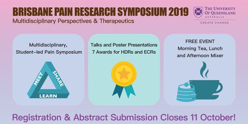 Brisbane Pain Research Symposium 2019