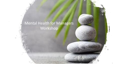 Mental Health for Managers Workshop