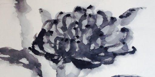 Waratah Festival: Sumi-e ink painting workshop with Michiyo Miwa