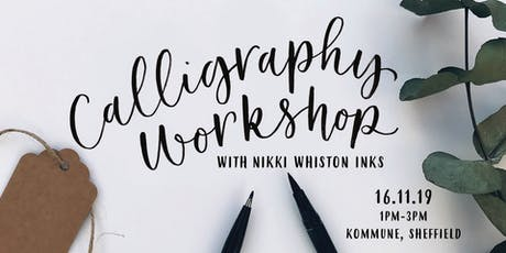 Beginner Modern Calligraphy Workshop - Brush Pen tickets