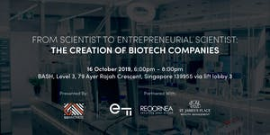 From Scientist to Entrepreneurial Scientist: The...
