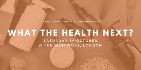 WHAT THE HEALTH NEXT? -  Plant-based natural skincare workshop tickets