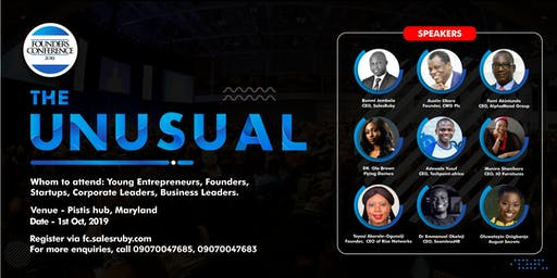 Founders Conference 2019