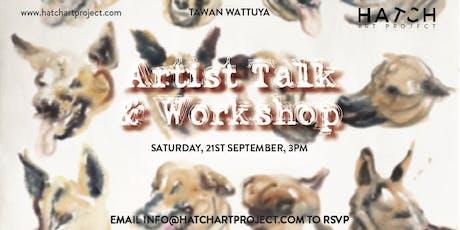 Tawan Wattuya: Artist Talk + Live Watercolour Painting tickets