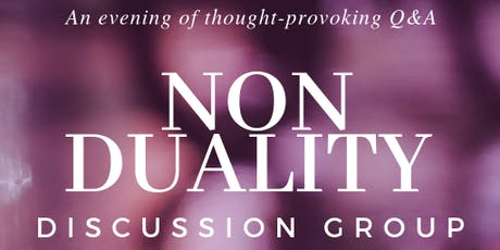 Non Duality - Exploring the link between identity and mental health tickets
