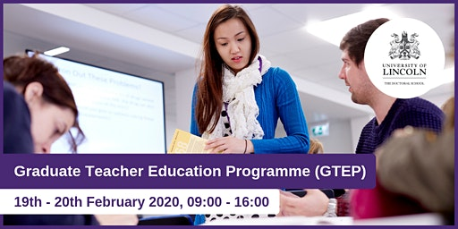 Graduate Teacher Education Programme (GTEP)