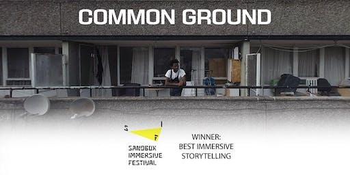 Common Ground - VR documentary film, Walworth History Festival