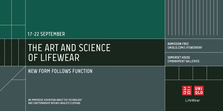The Art and Science of LifeWear: New Form Follows Function tickets