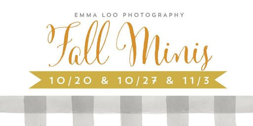 Emma Loo 2019 Fall Mini-Sessions