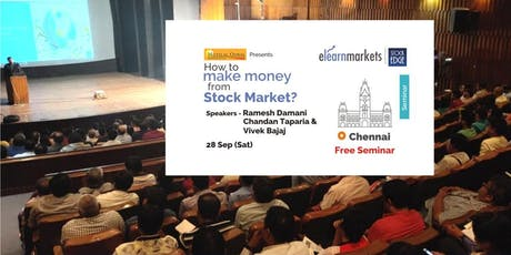 "Free Seminar on ""How to Make Money from Stock market?"" tickets"