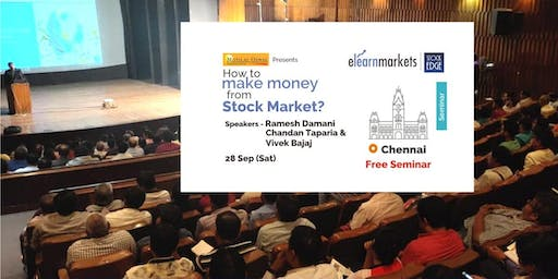 "Free Seminar on ""How to Make Money from Stock market?"""