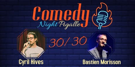 Comedy Night Pigalle #4 billets
