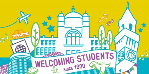 UoB Welcome Week City Centre Tour: 11am