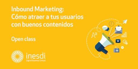 Inbound Marketing:  Cómo atraer a tus usuarios con buenos contenidos entradas