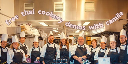 Free Cookery Demo at Camile Thai Pearse Street (With Lunch!)
