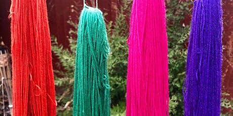 A splash of colour - Yarn Dye Workshop tickets