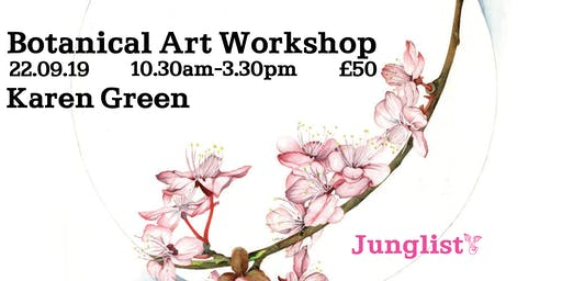 Botanical Art Workshop with Karen Green