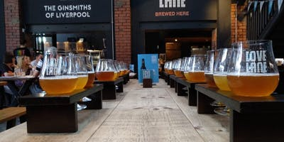 Meet the brewery team- Brewery Tour, beer flight, bar snacks and a stein