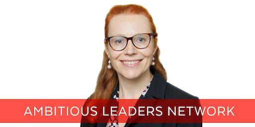 Ambitious Leaders Network Melbourne – 2 October 2019 - Emma Langton-Bunker