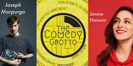 The Comedy Grotto with Joseph Morpurgo tickets