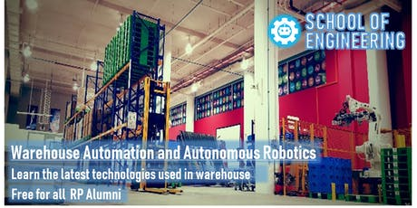 Warehouse Automation and Autonomous Robotics tickets