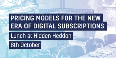 Pricing Models for the New Era of Digital Subscriptions