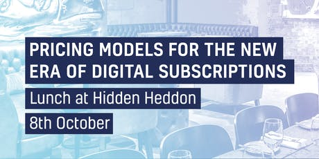 Pricing Models for the New Era of Digital Subscriptions tickets