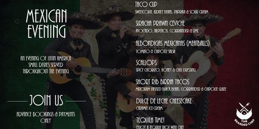 Mexican Fiesta Menu at Bamboo Bar