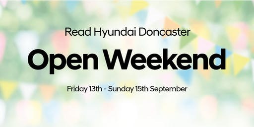 Read Hyundai Doncaster Open Weekend
