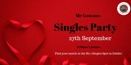 Mc Gowans Singles Night tickets