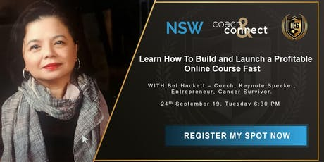 Learn How To Build and Launch a Profitable Online Course Fast tickets