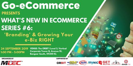 24 Sept 2019 | What's New In eCommerce Series #6 tickets