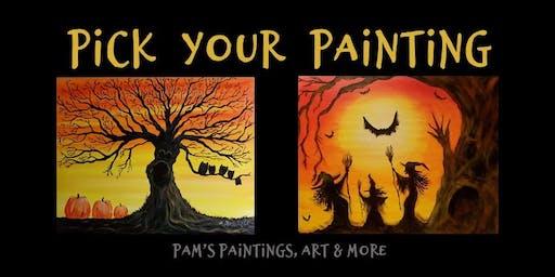 Paint Night on the Farm - Spooky Halloween Night