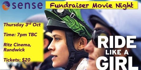 Movie fundraiser for Sense- RIDE LIKE A GIRL tickets