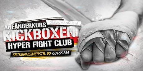 Anfängerkurs Jugend Kickboxen Mannheim ab 10 Jahre  Tickets