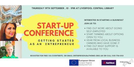 Enterprise Hub Start Up & Grow Week: Start Up Conference tickets