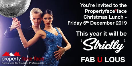 Property Face2Face Christmas Lunch - Friday 6th December 2019 tickets